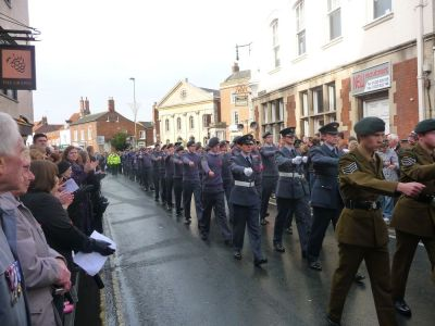 Abingdon Remembrance Sunday, All the Services March